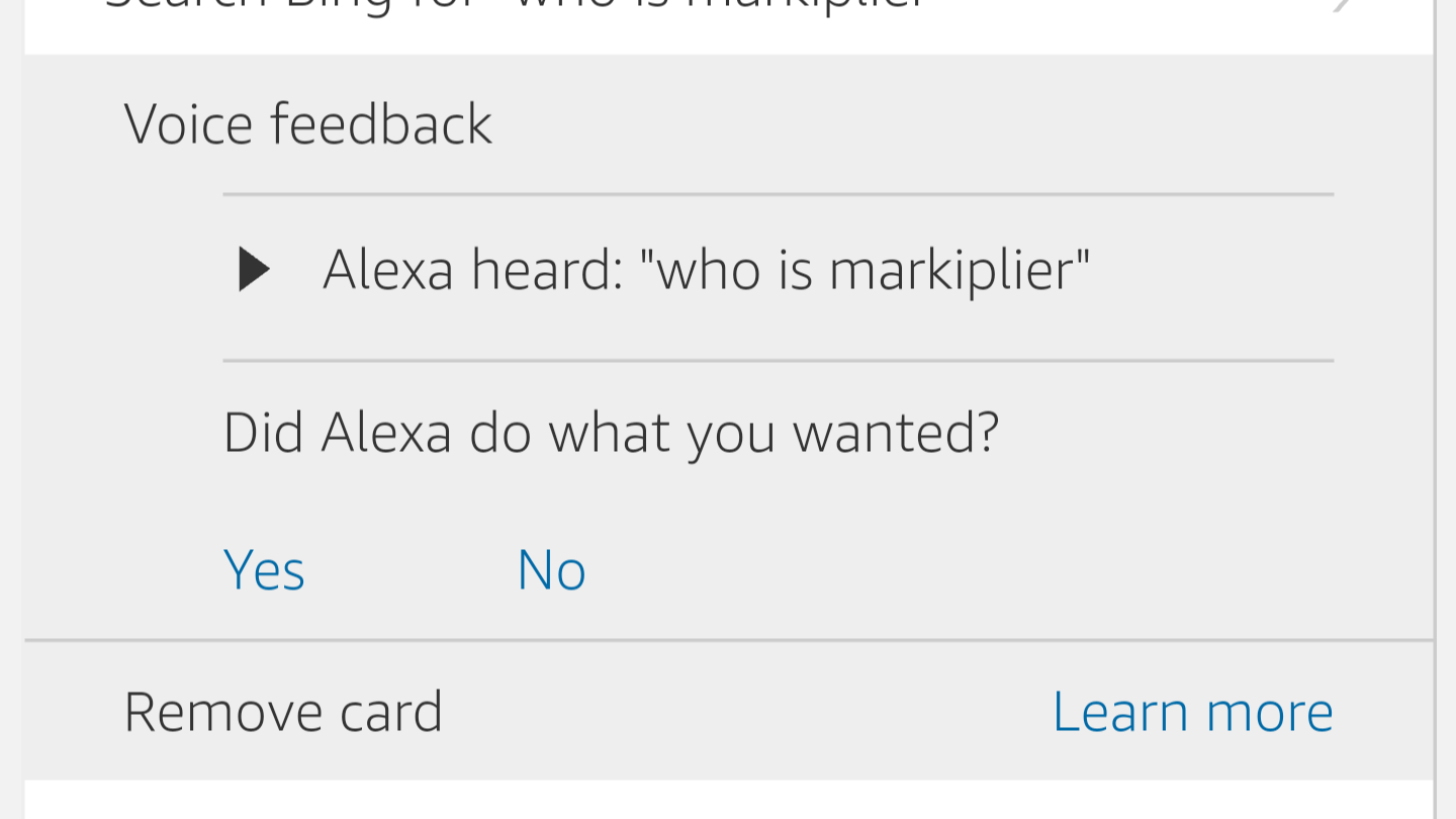 Help Alexa Understand You Better By Telling Her When She's Right