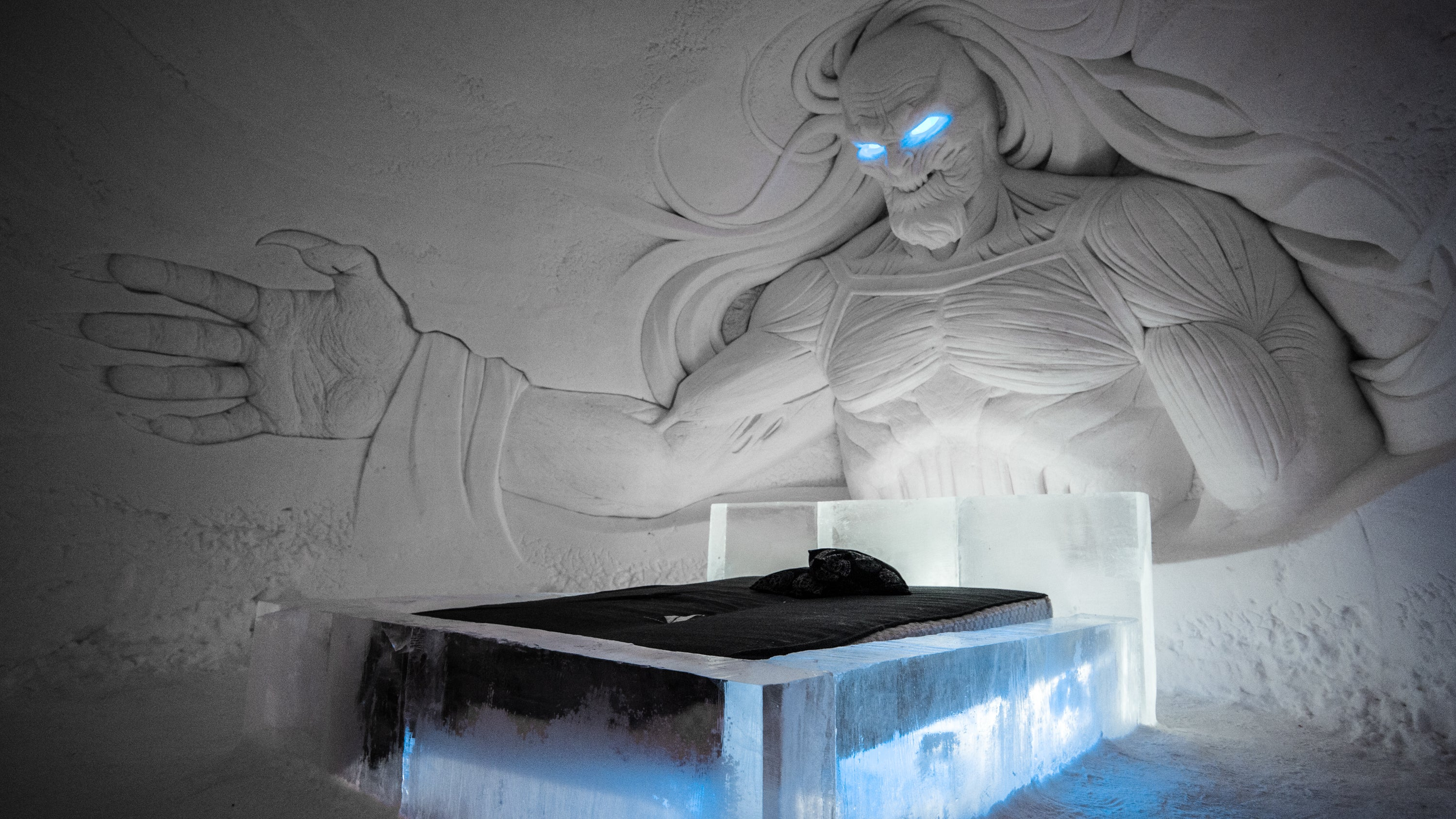 Freeze Your Butt Off In This Game Of Thrones Ice Hotel