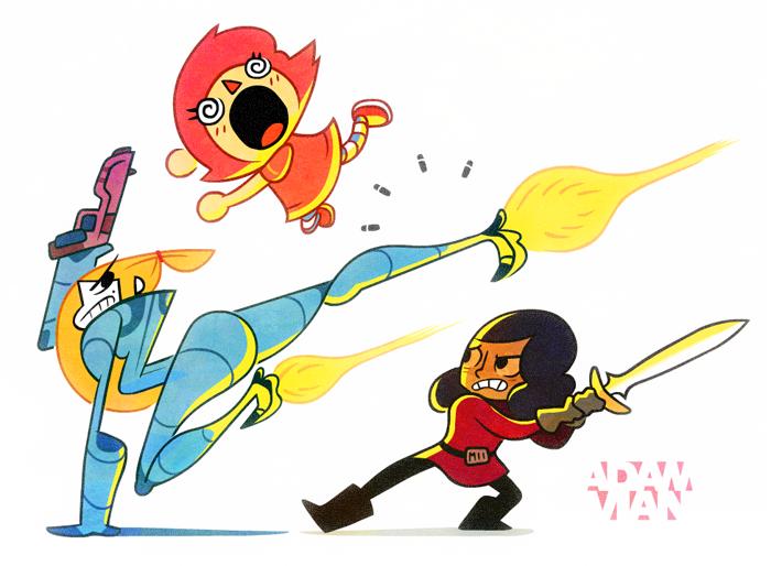 The Ladies Of Smash Bros.
