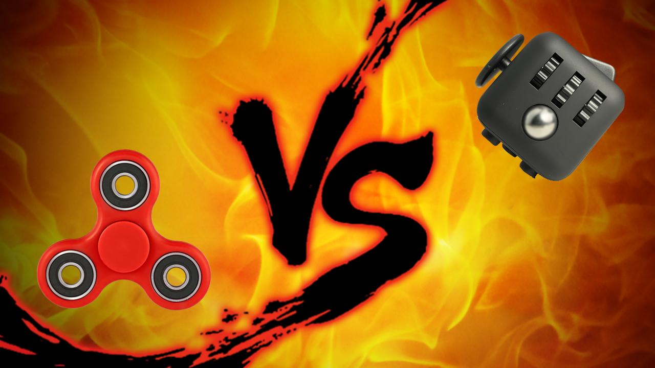 Showdown: Fidget Spinner Vs Fidget Cube