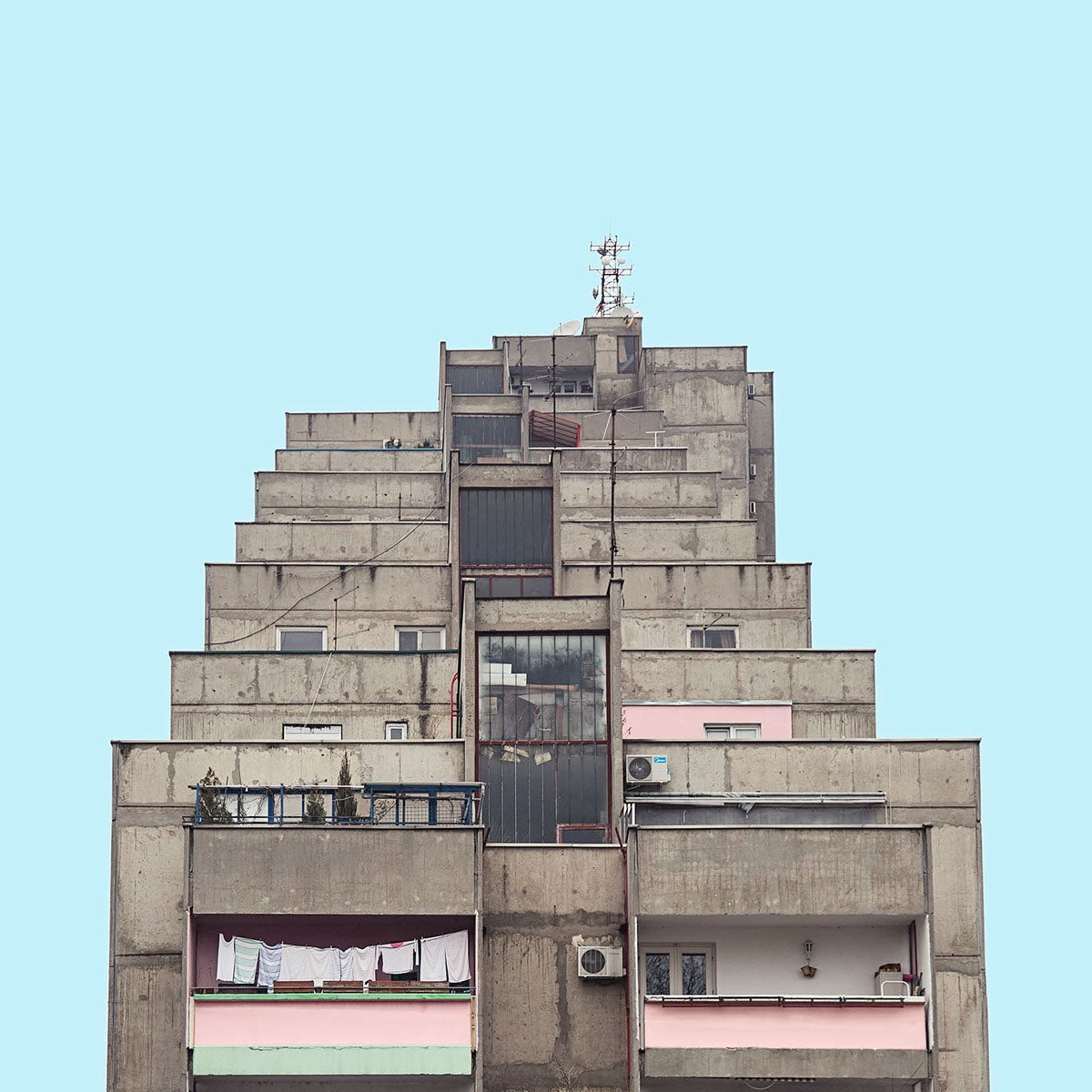 These Photos of Belgrade's Socialist Architecture Look Like Ancient Spaceships