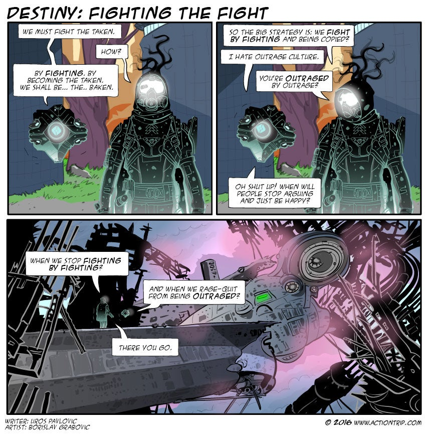 Sunday Comics: Another Planet Doomed