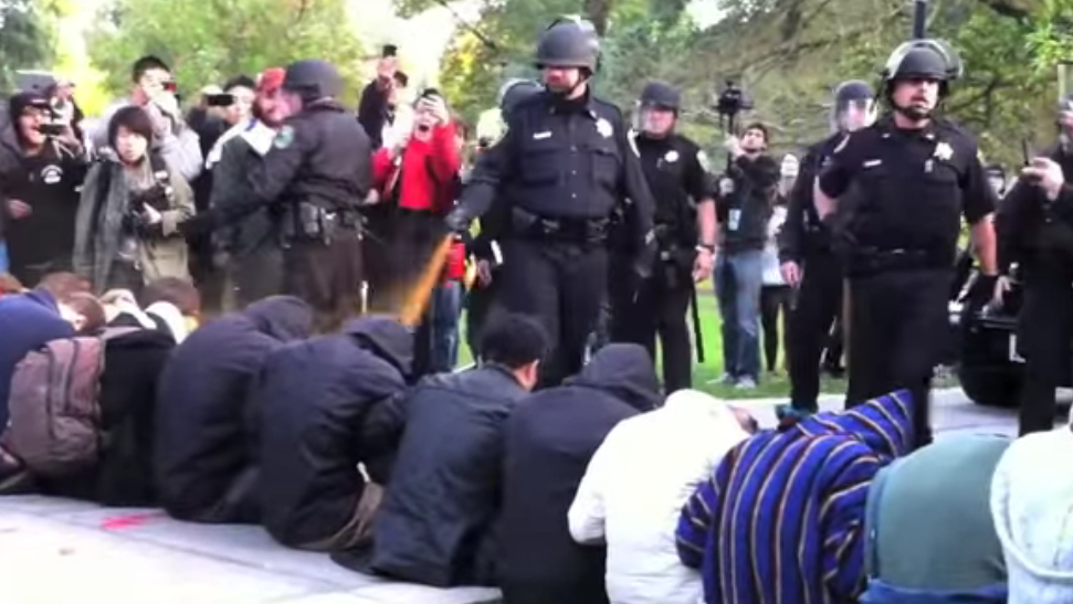 UC Davis Tried Really, Really Hard to Erase That 2011 Pepper Spray Incident From the Internet