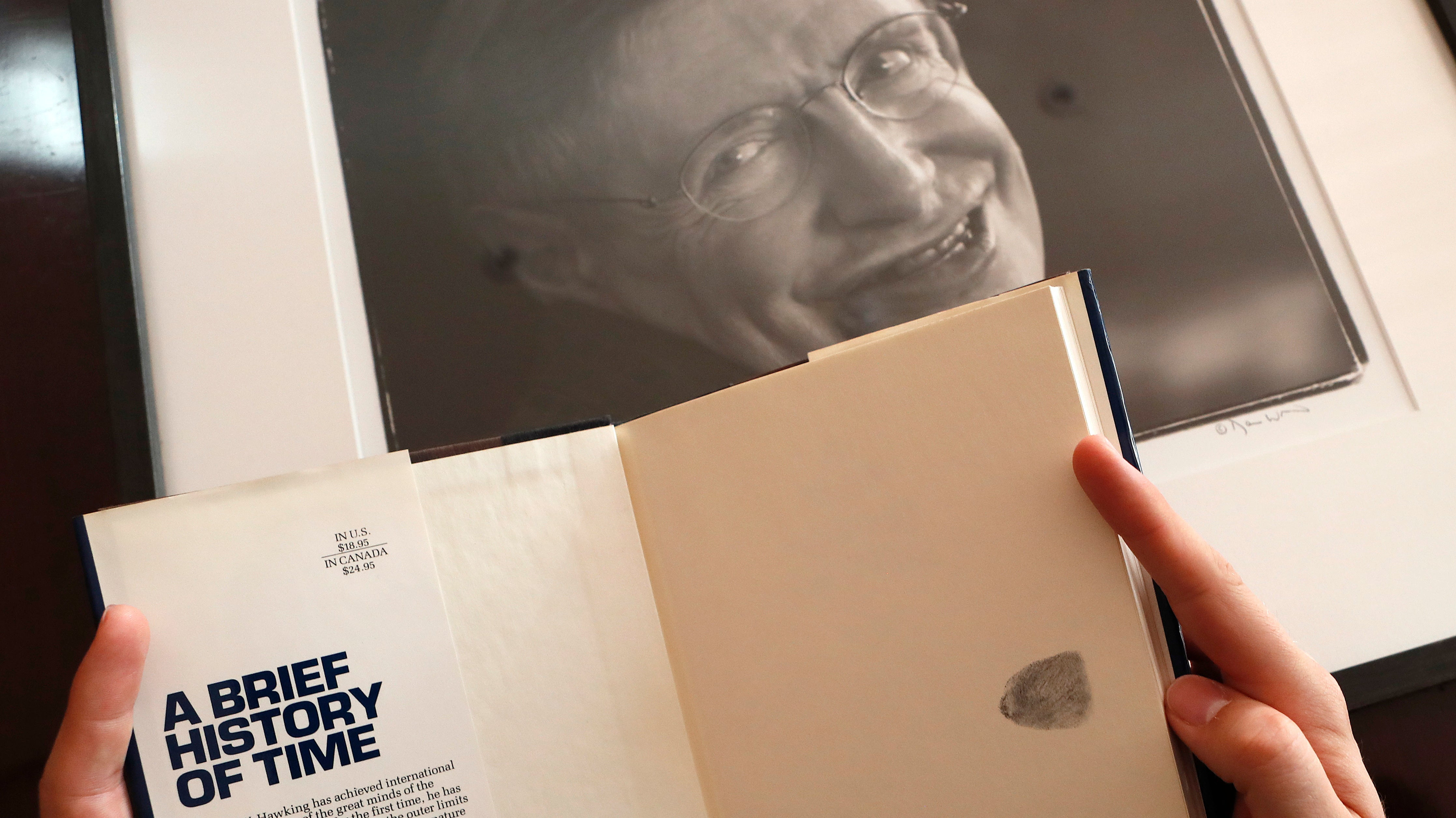 Stephen Hawking's Wheelchair And Doctoral Thesis Sell In Multimillion Dollar Auction