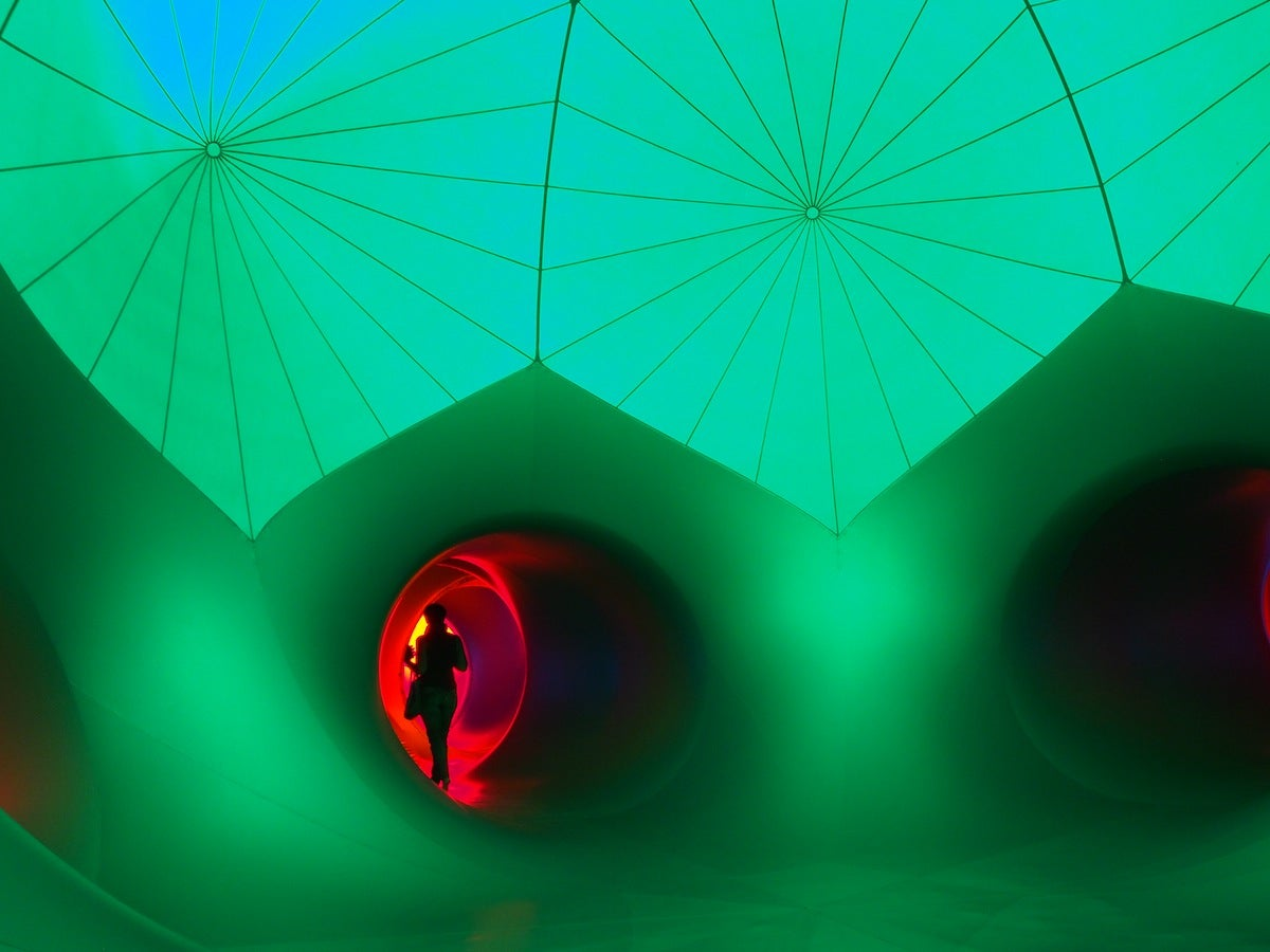 These Womb-Like Cathedrals of Colour Are Made From Giant Balloons