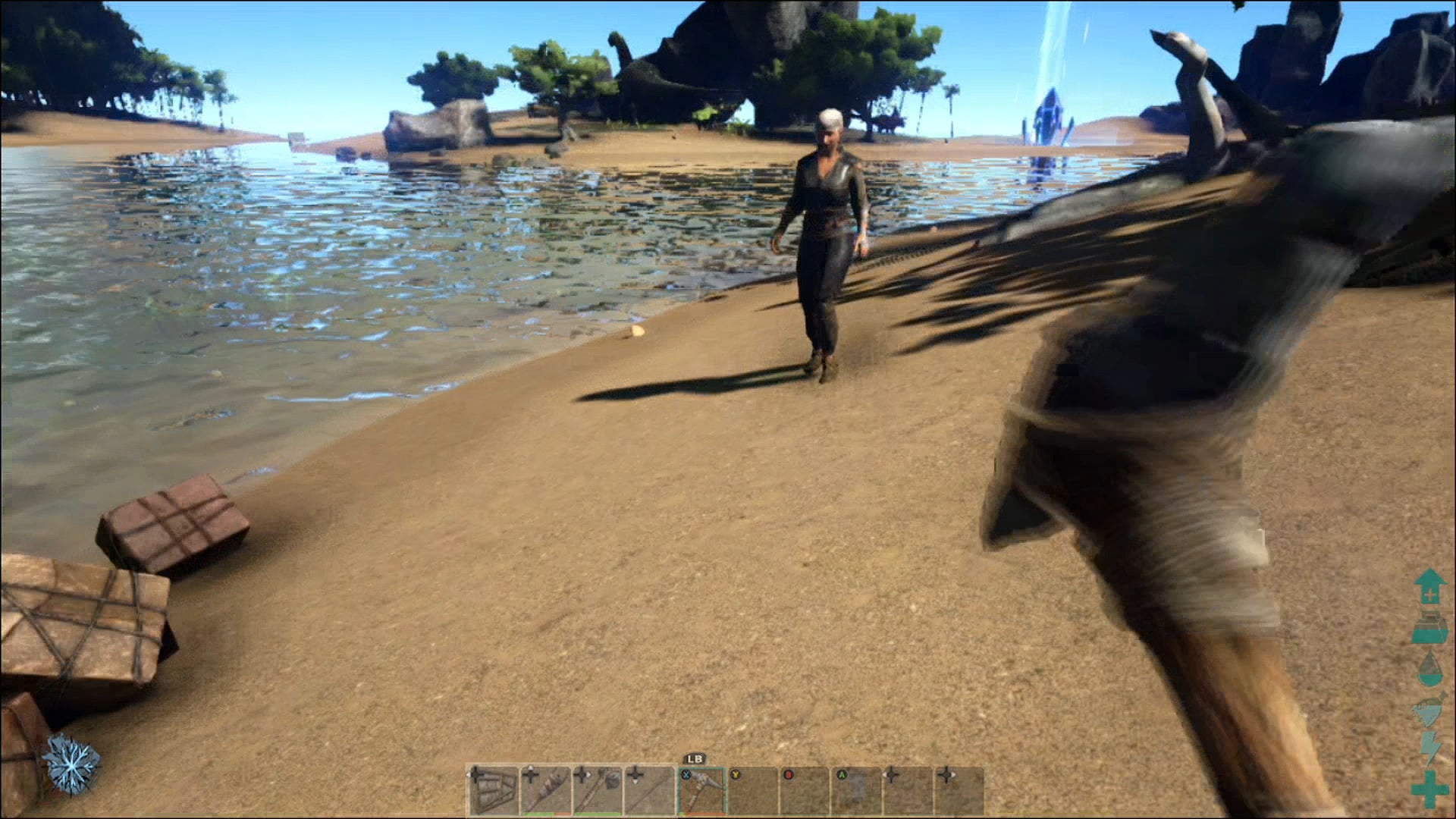 Playing Ark: Survival Evolved For The First Time On Xbox One