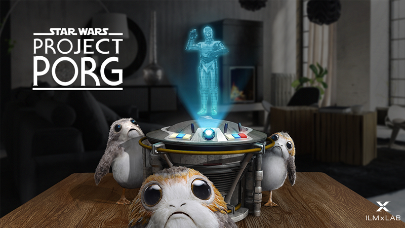 ILM's Next Augmented Reality Experiment Is Porgs