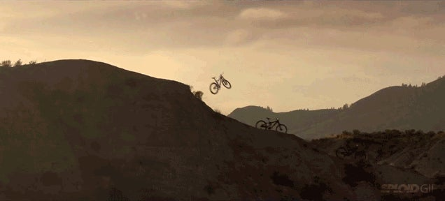 Daredevil bikes somehow ride themselves in this visually stunning video