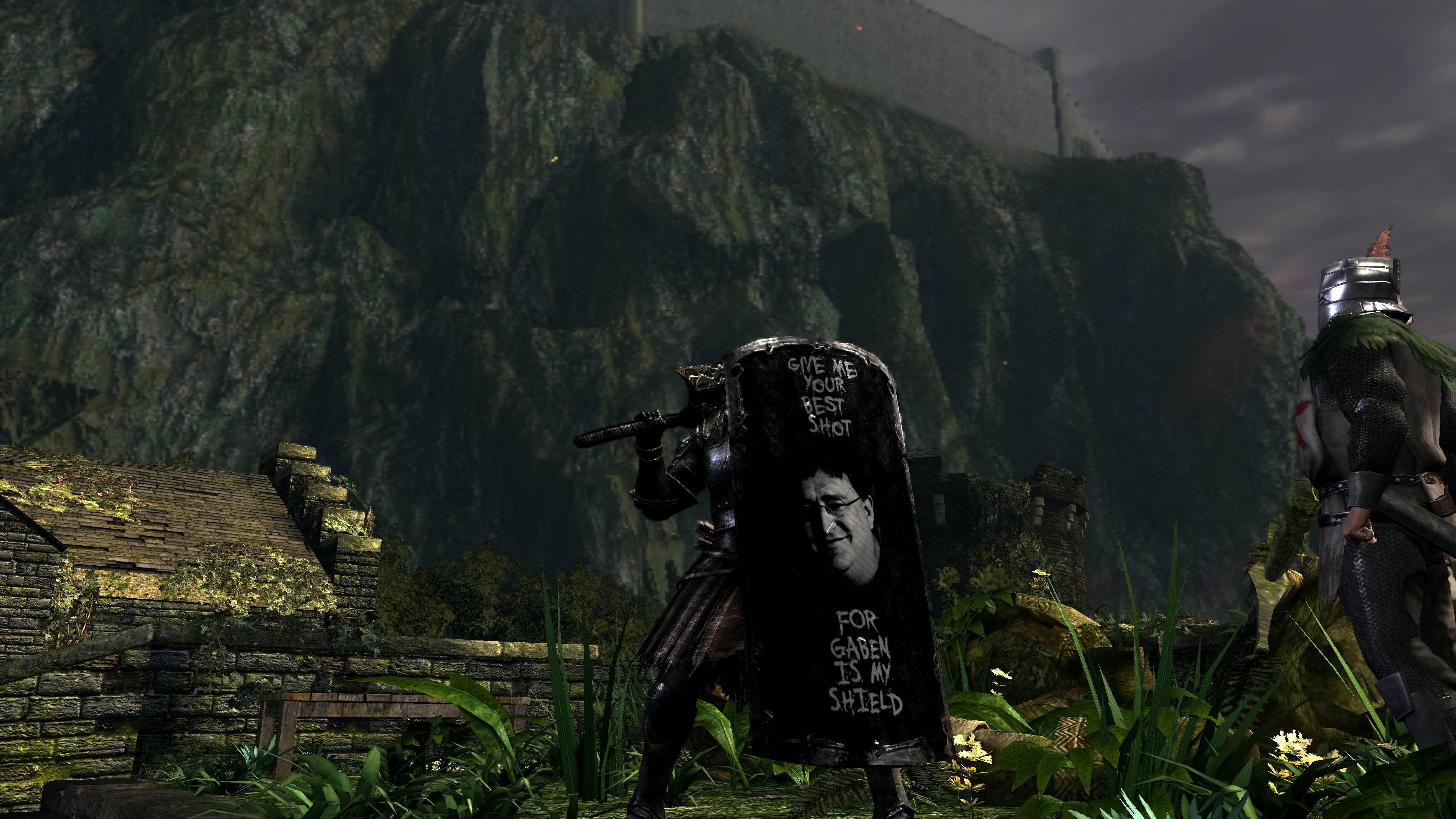 Gabe Newell Will Save You From Dark Souls II
