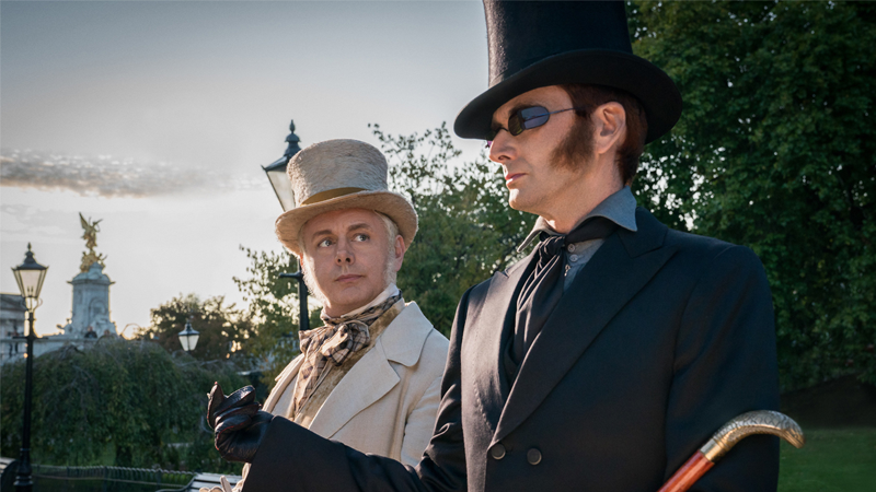 One Of Good Omens' Best Additions Was An Excuse To Give David Tennant And Michael Sheen More To Do