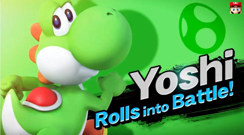 Yoshi's Back In The New Smash Bros.