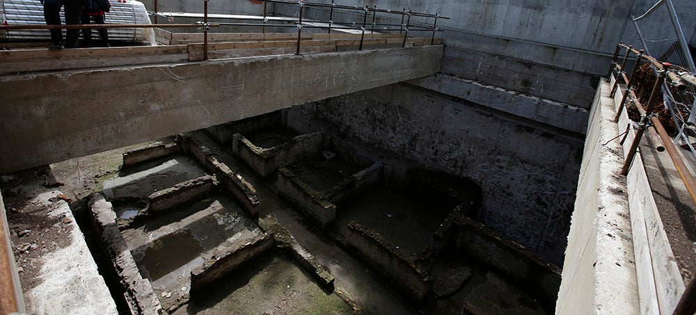 Metro Engineers Unearth 10,000 Square Feet of Ruins Beneath Rome