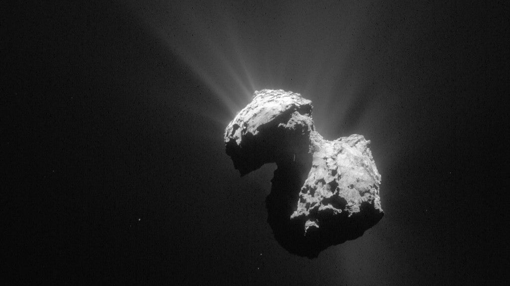 Comet 67P Repeatedly Changed Colour During The Historic Rosetta Mission