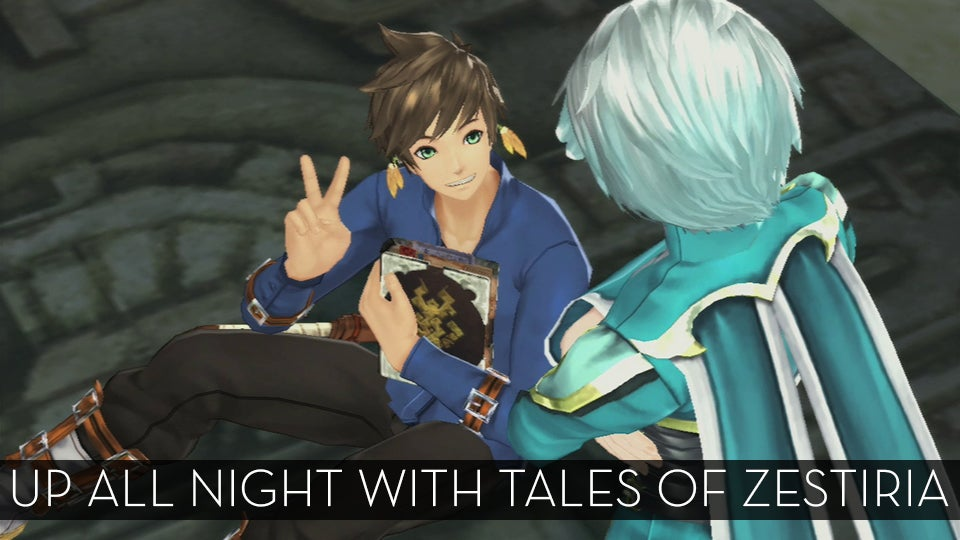 The Up All Night Stream Plays Tales of Zestiria