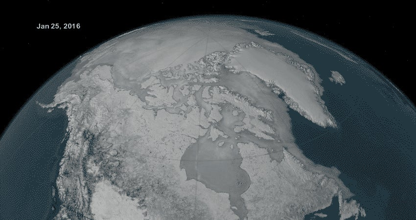 Arctic Sea Ice Hits Another Terrifying Milestone