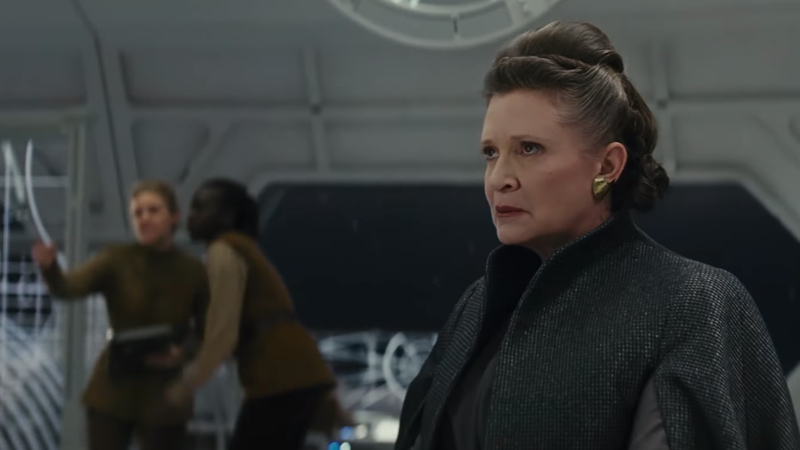 Carrie Fisher Is The Reason Star Wars: The Last Jediis Filled With Space Jewellery