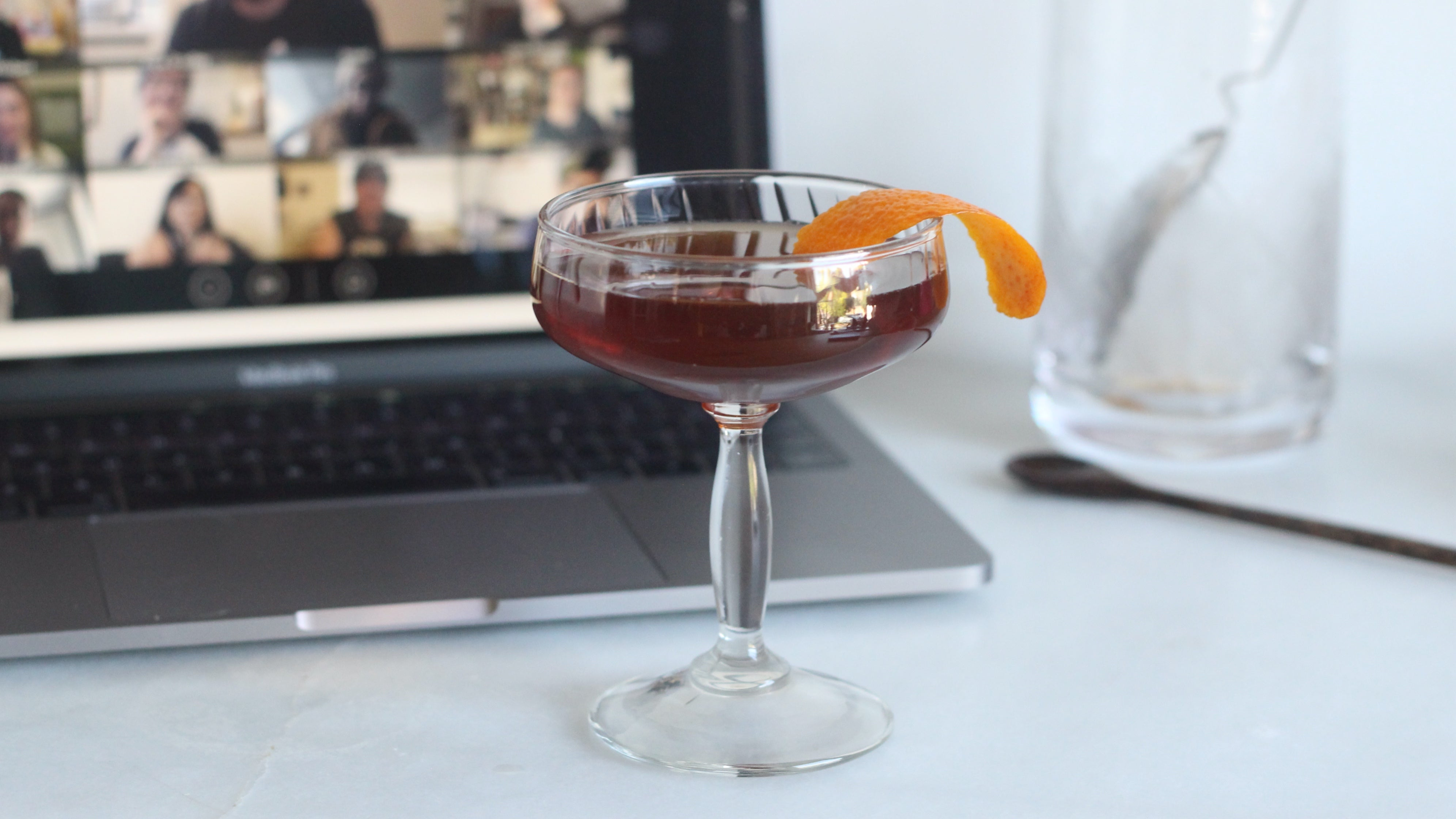 Make An Upside-Down Manhattan For Your Next Zoom Happy Hour