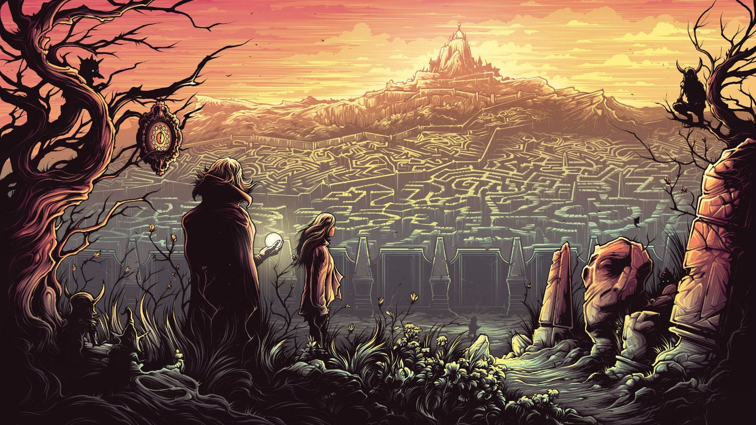 Reimagine Classic Movies Through The Acid-Trip Style Of Artist Dan Mumford