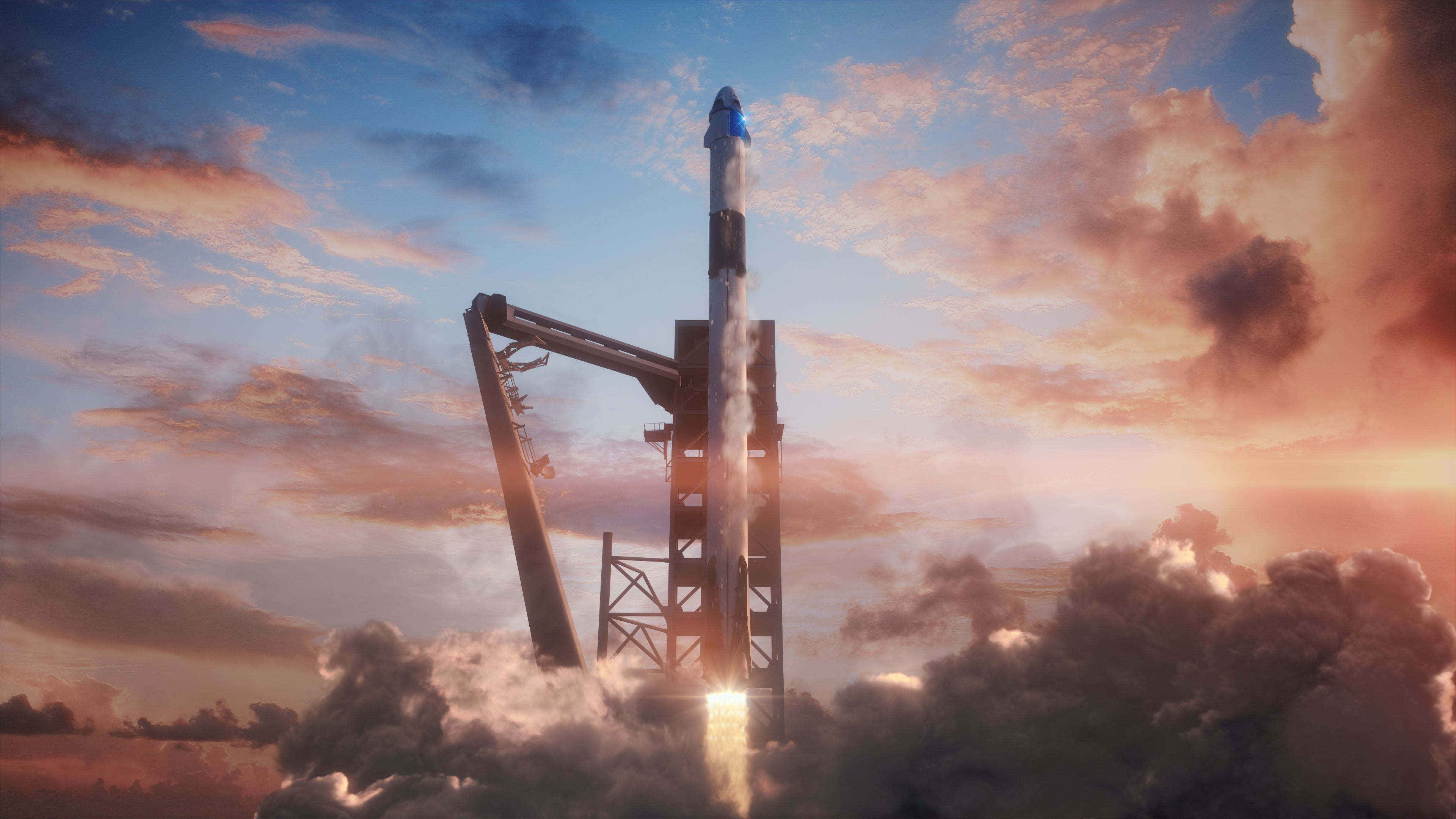 NASA Finally Schedules Test Of SpaceX Spacecraft Designed For Astronauts