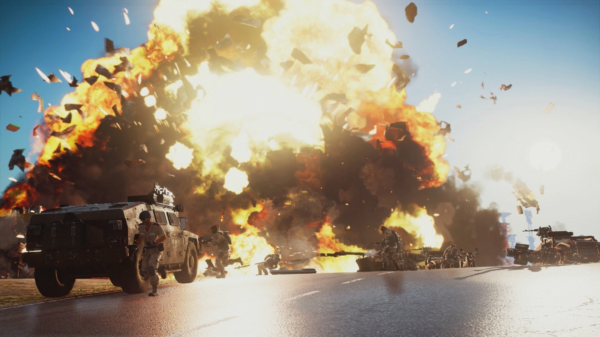 Just Cause 3 Becomes Pure Chaos Even If You Do Absolutely Nothing