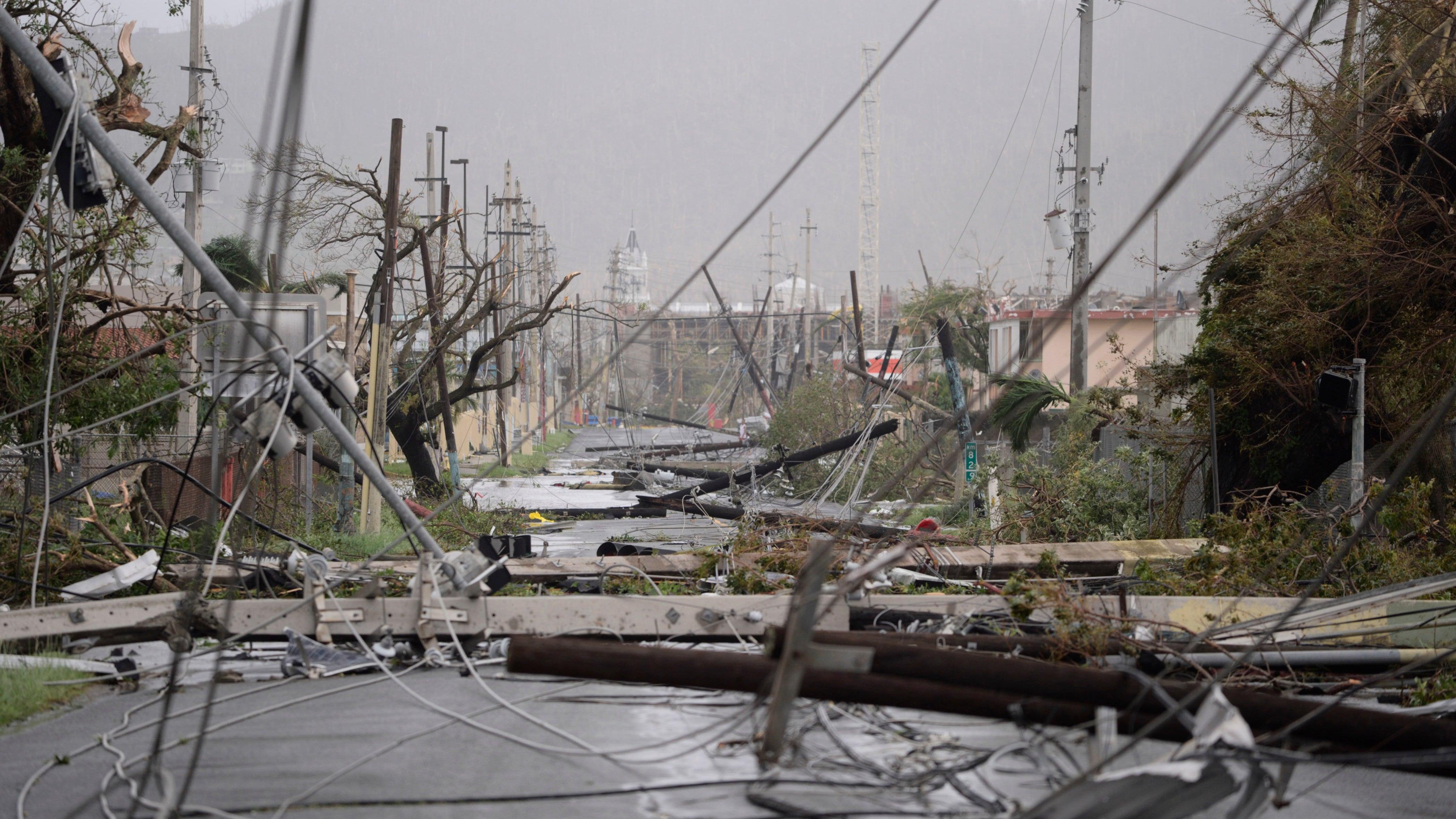 Hurricane Maria Left Puerto Rico Absolutely Devastated