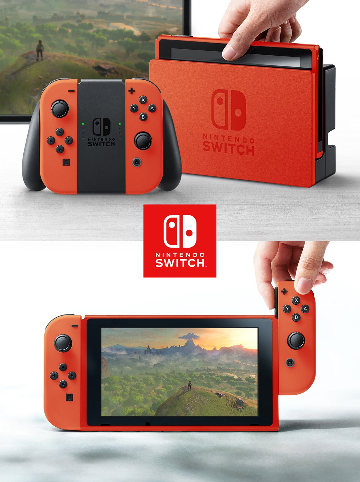Imagining The Nintendo Switch In Different Colours