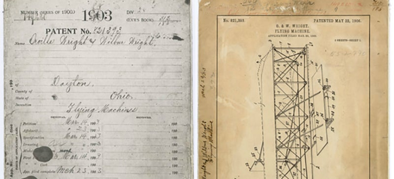 The Wright Brothers' Plane Patent Was Misplaced for 36 Years