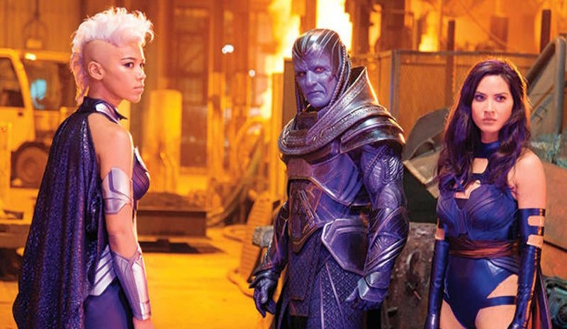 Either an X-Men: Apocalypse/Flash Gordon Crossover Is Happening or Someone Is Very Confused