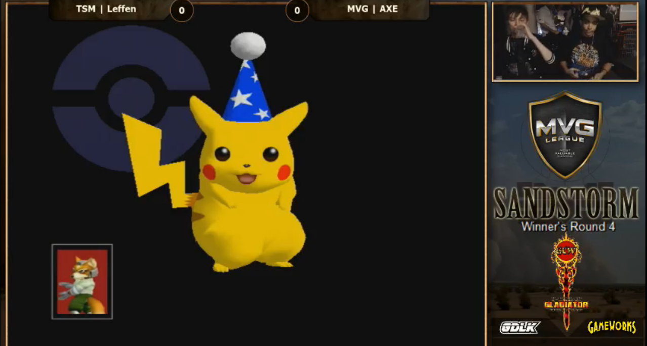 Watch The World's Best Pikachu Player Defeat Smash Bros. Gods