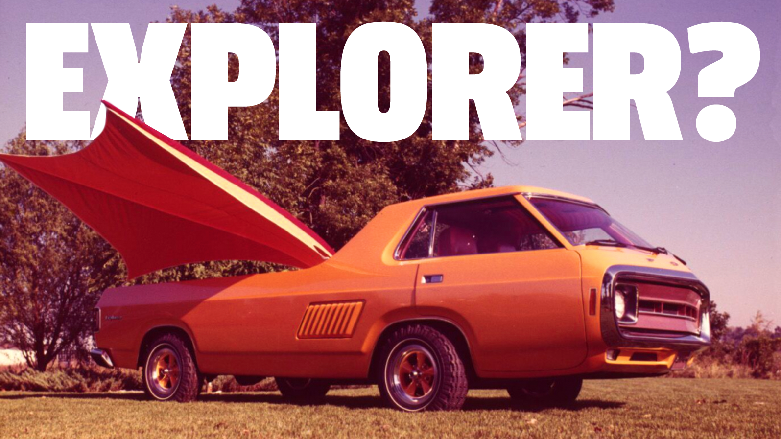 The Original Ford Explorer Was So Much Cooler Than You'd Think
