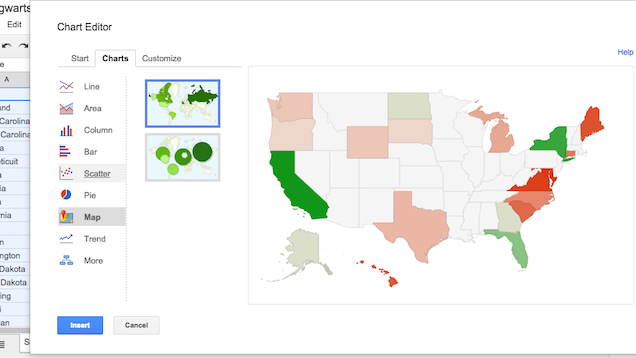 Create Customisable GeoMaps with Google Sheets