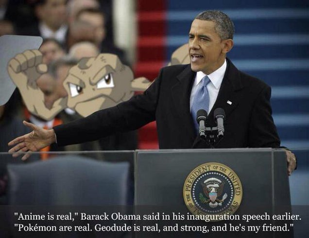 Thanks, Obama for the Anime Photoshops