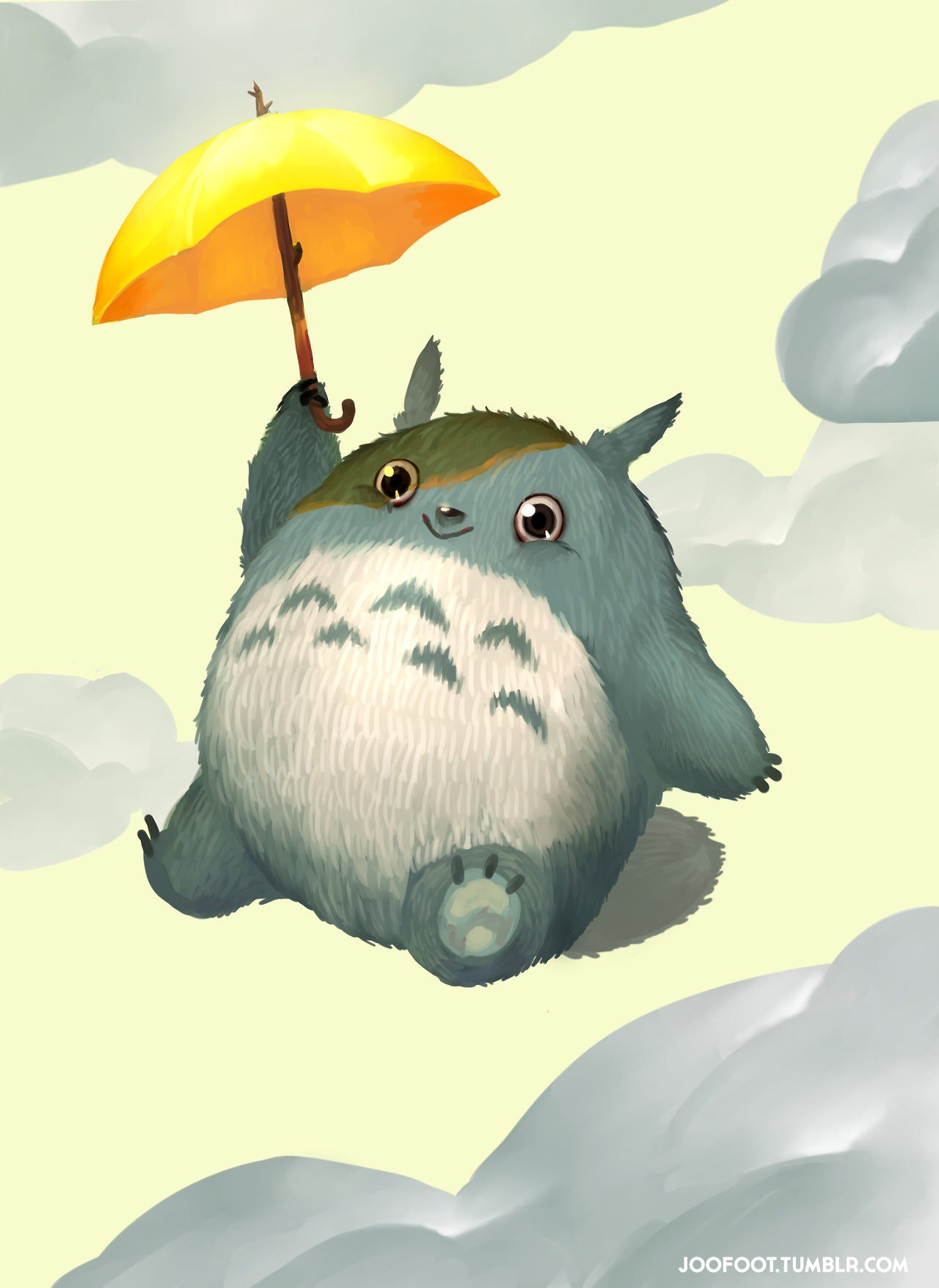 Uh, Totoro, Are You OK?
