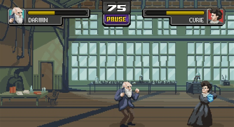 The World's Greatest Scientists Kick Each Other's Arse In This 2D Fighting Game