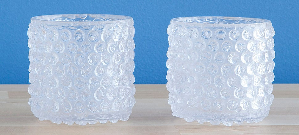 Resist the Urge To Squeeze These Bubble Wrap Glasses