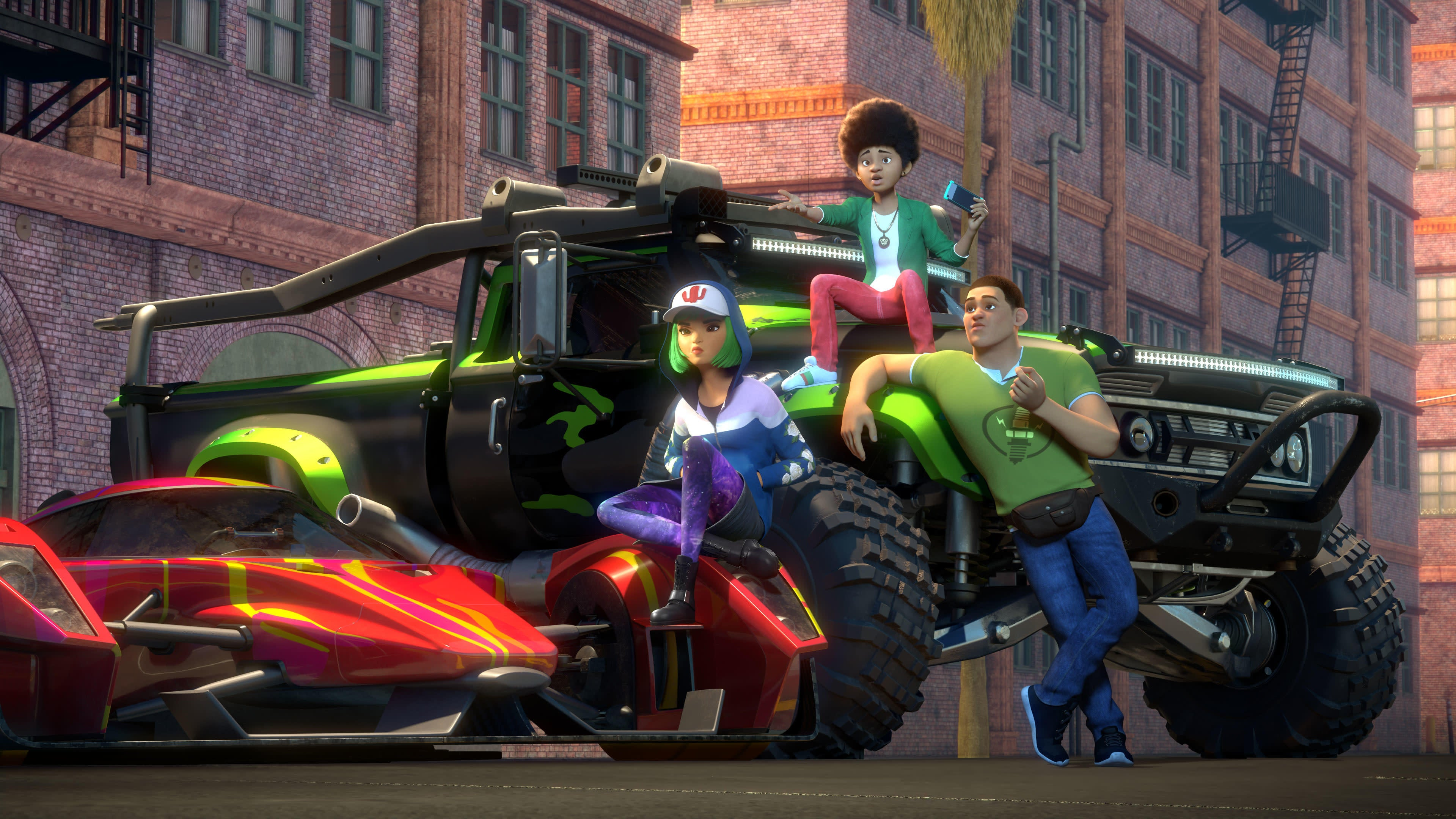 The Animated Fast & Furious Show Can Be Your Late Christmas Present
