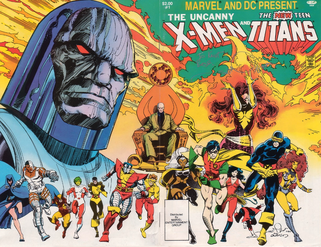 It's Amazing That Marvel And DC's Classic X-Men And Teen Titans Crossover Ever Happened