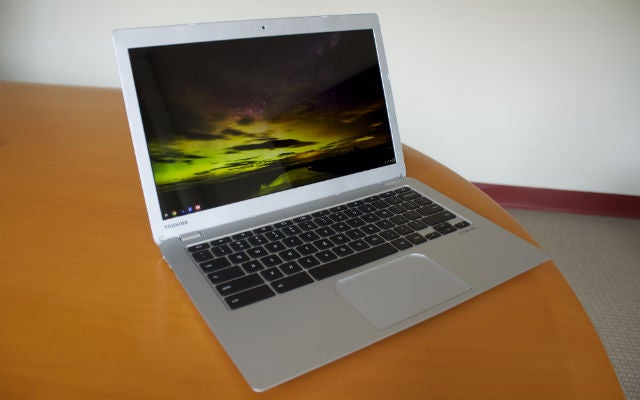 Toshiba's Chromebook Gets a Redesign, Full HD Model
