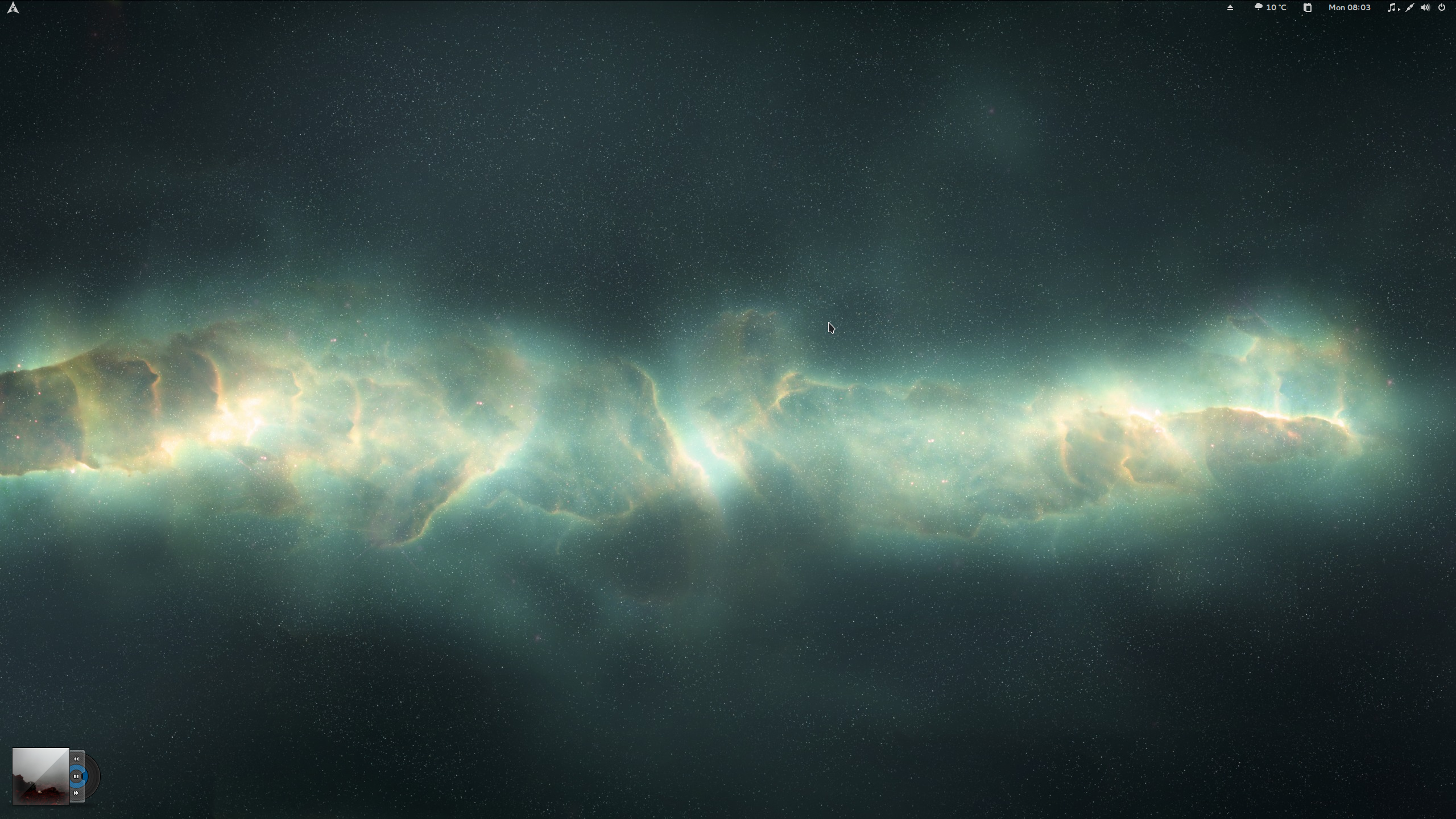The Arch Nebula Desktop