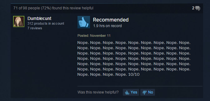 Five Nights at Freddy's 2, As Told By Steam Reviews