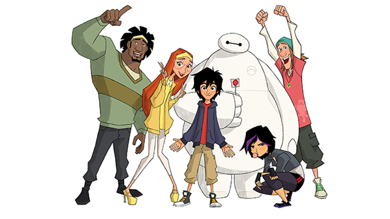 New Details About The Big Hero 6Cartoon Confirm Most Of The Cast Is Back