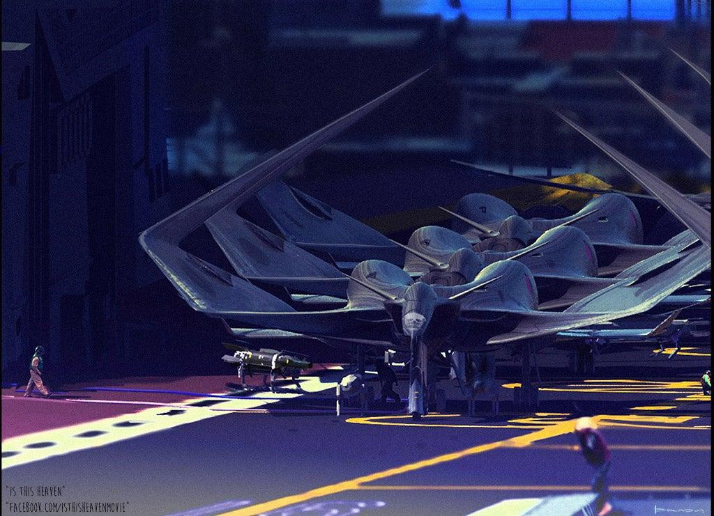 Formidable biologically inspired aeroplanes by Al Brady