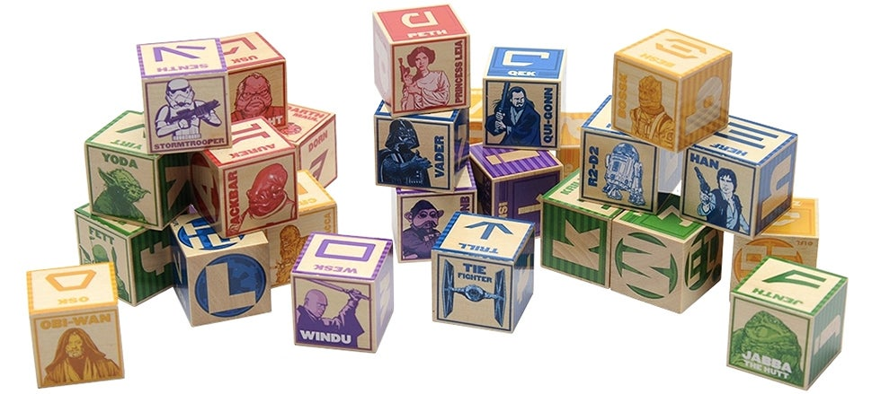 All Your Baby Needs To Know Can Be Learned From These Star Wars Blocks