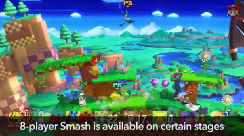 Wow, Super Smash Bros. Wii U Will Have Eight-Player Battles