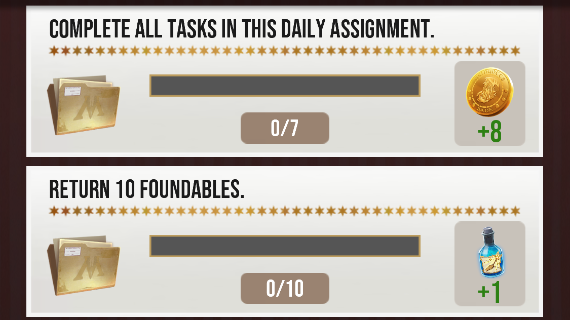 Why Your Daily Assignments Aren't Tracking In 'Harry Potter: Wizards Unite'