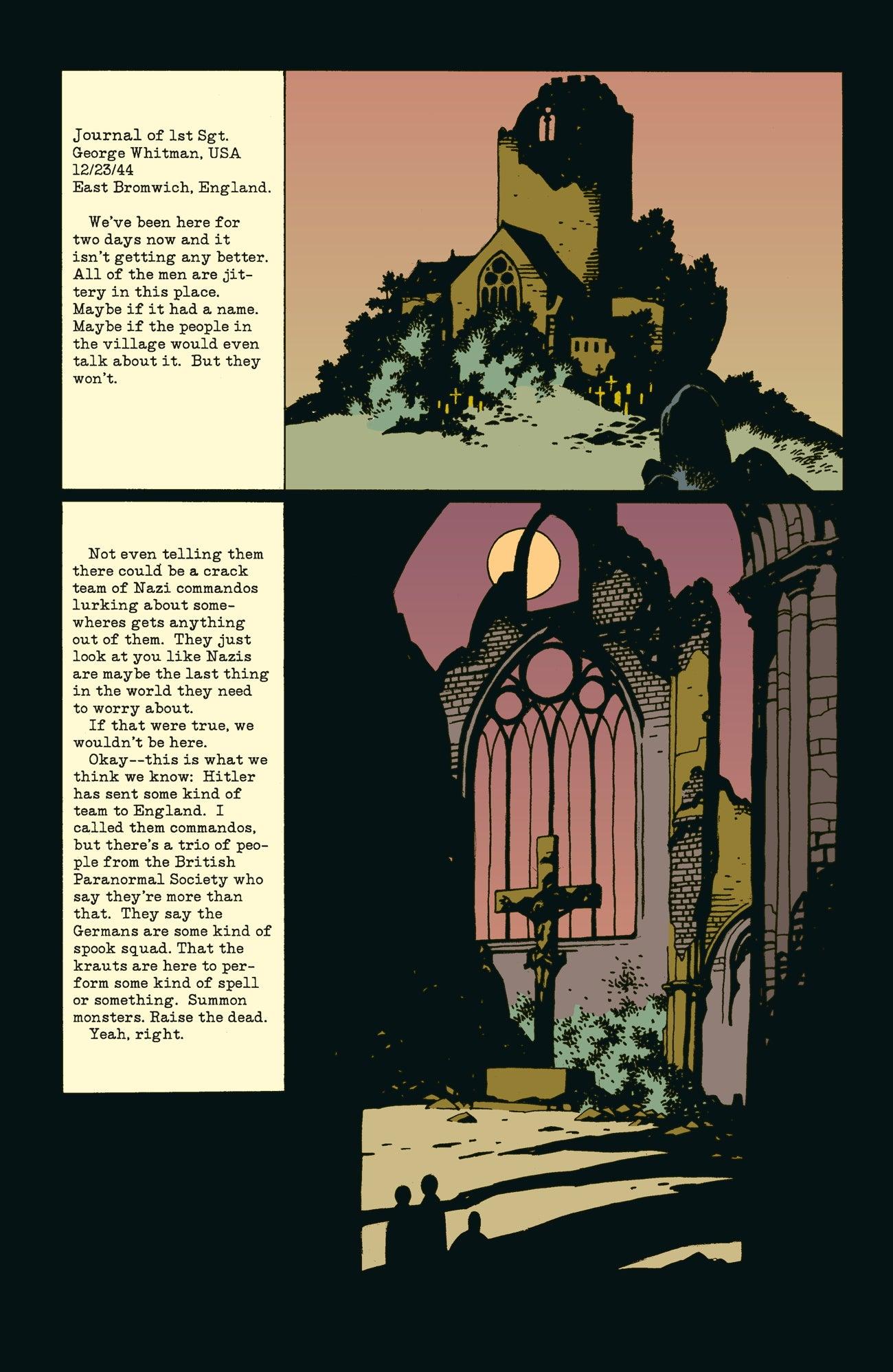 Image: Mike Mignola, John Byrne, Mark Chiarello, and Matt Hollingsworth, Dark Horse Comics