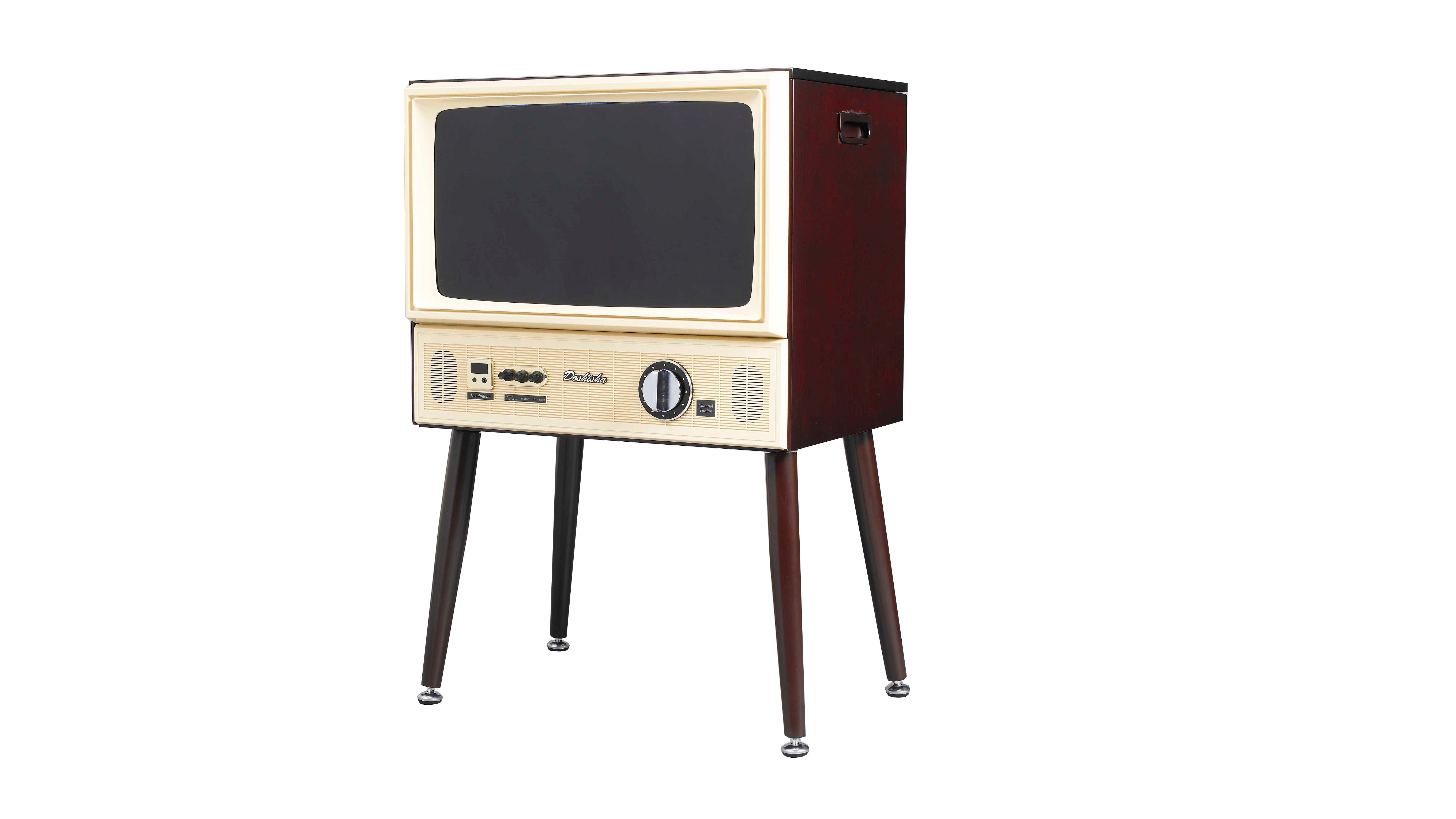 This Retro TV Is Filled WithModern Electronics