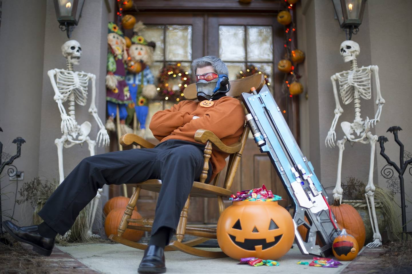 Soldier 76 Makes It A Very Dad Halloween