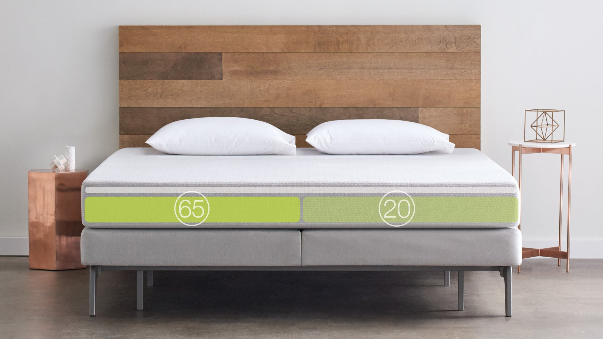 Sleep number 39 s new adjustable mattress ships in a tiny box for Sleep by number mattress