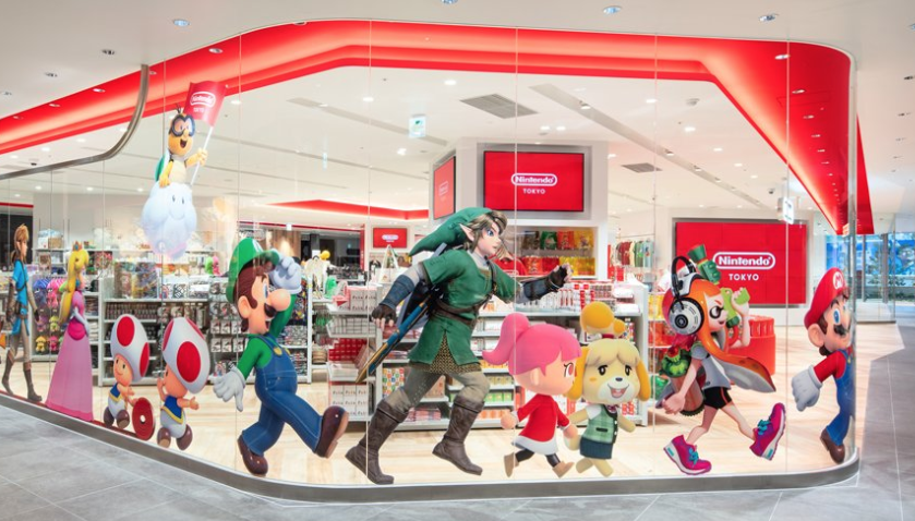 Japan's First Nintendo Store Opened Last Friday, But Lines Are Still Hours Long